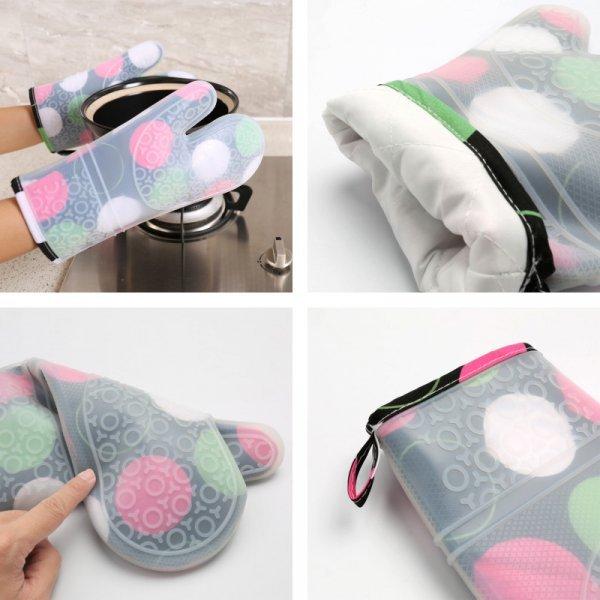 Термостойкие силиконовые перчатки от AUSOON DIRECT (1 шт)
