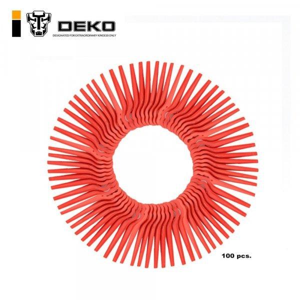 Пластиковые ножи для триммера от DEKO (100 шт)
