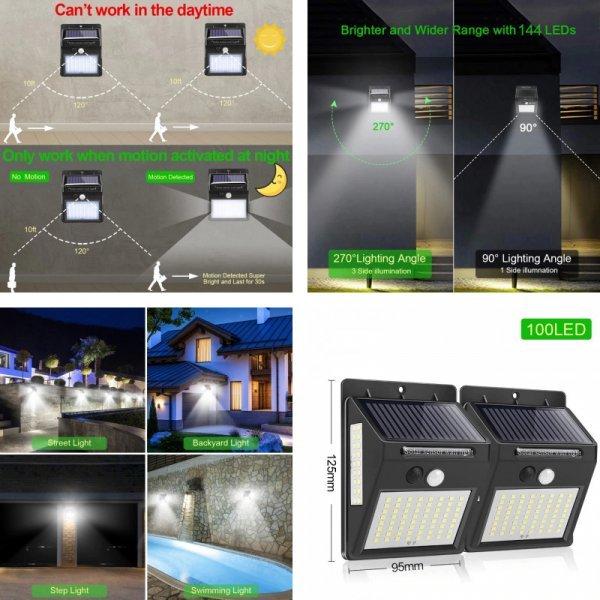 Светодиодный фонарь для улицы