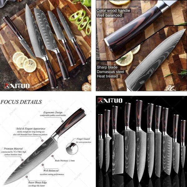 Японские ножи от Xituo