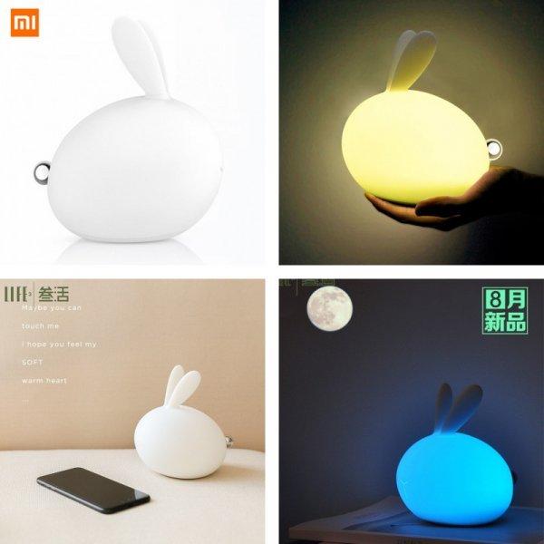 Светодиодный ночник Кролик Xiaomi  (3 режима)