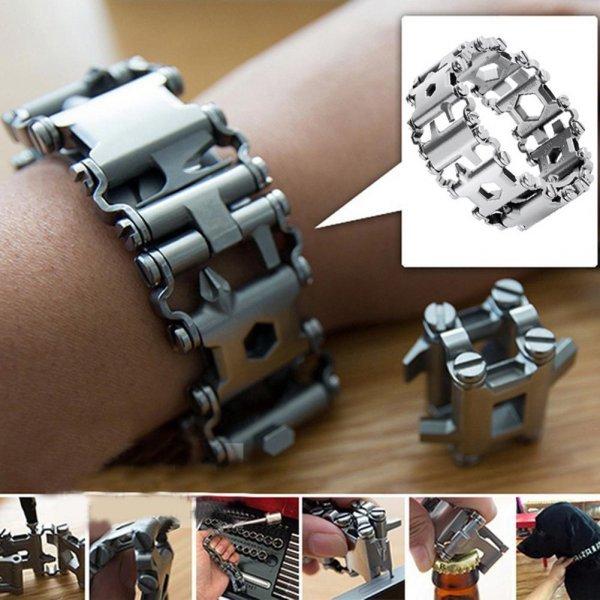 Стильный многофункциональный браслет от DREAMBELL (2 цвета)