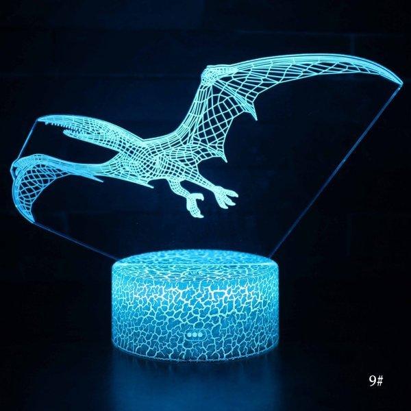 Настольный 3D ночник-лампа (11 видов)