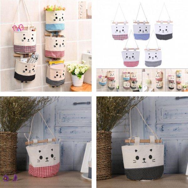 Настенные сумки для хранения от MOJOYCE (5 цветов)