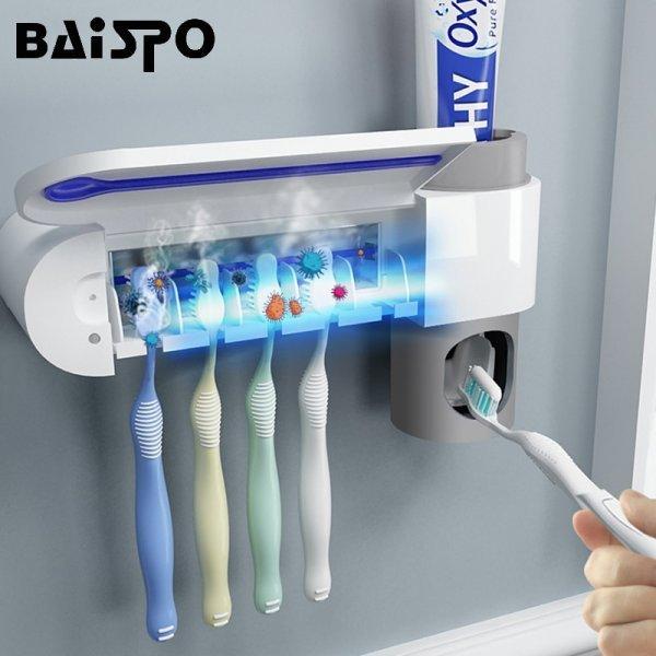 Держатель для зубных щеток 2 в 1 от BAISPO