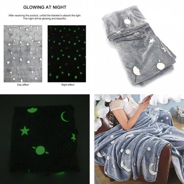 Светящиеся одеяло
