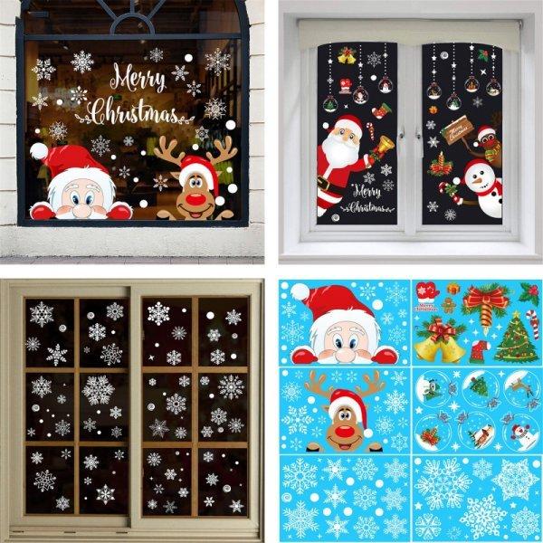 Наклейки на окна (6 видов)