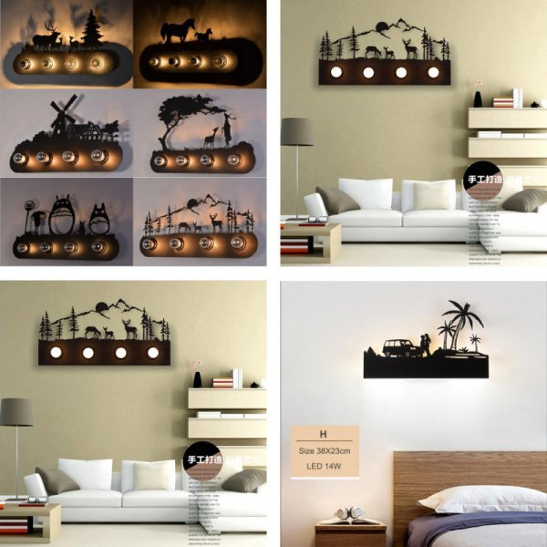 Винтажный светильник от NEWRAYS (12 видов)