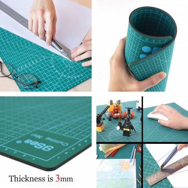 Новинка! Набор разделочных ковриков для шинковки (3 шт, ПВХ, 60*45*0.3 см)