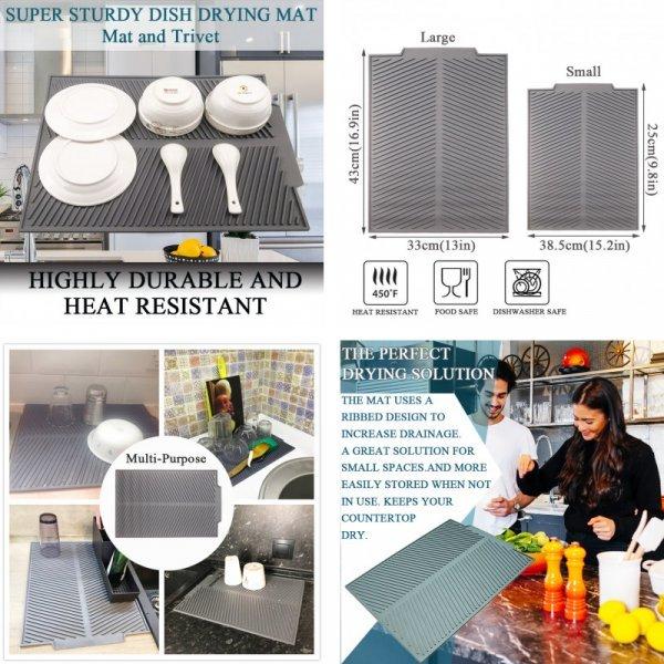 Коврик-сушилка для посуды EPASUN (2 вида)