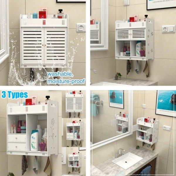 Настенный шкаф для ванной комнаты