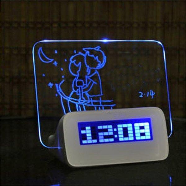 Светодиодный будильникr люминесцентные экраном JOCESTYLE