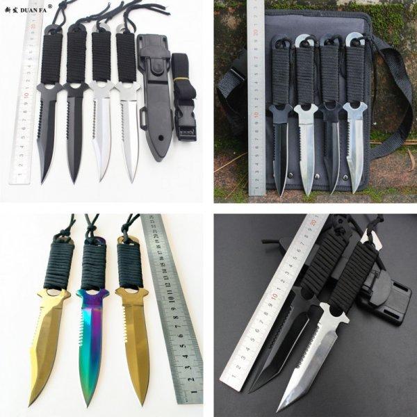 Нож DUAN FA  с неподвижным клинком не подведет!