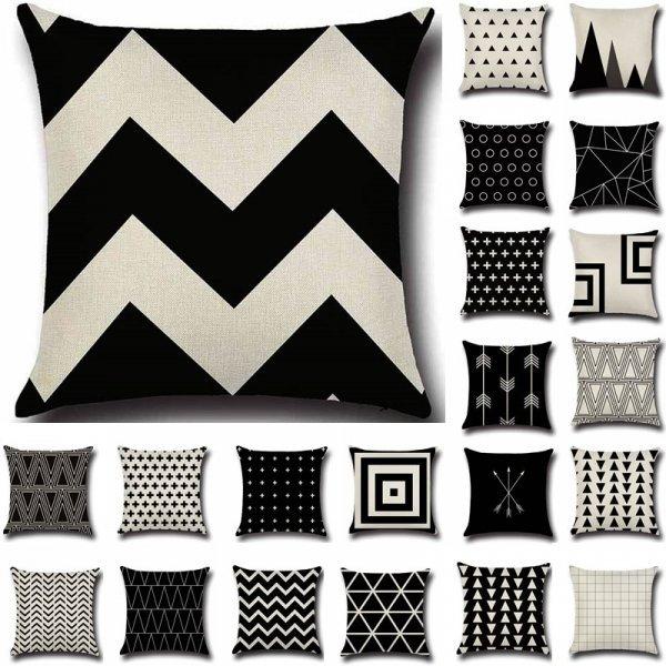 Чехол на подушку для фанатов геометрии (23 принца, 43*43 см)