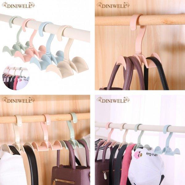 Вешалка для хранения сумочек и шарфов DINIWELL