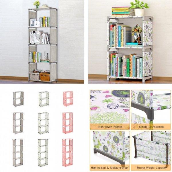 Книжный стеллаж, 3 или 4 уровня