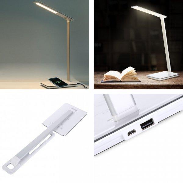 Настольная лампа с функцией беспроводного зарядника от  YouOKLight
