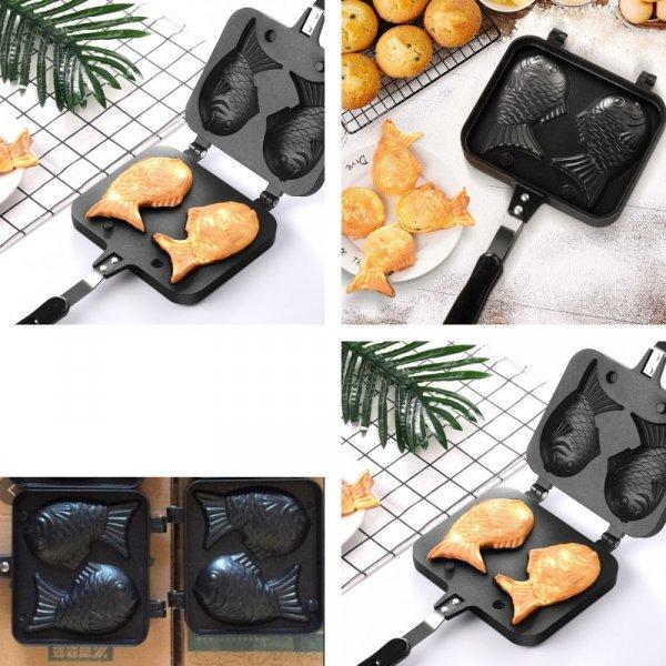 Сковородка-форма для японского печенья тайяки от SURPRISE WARM