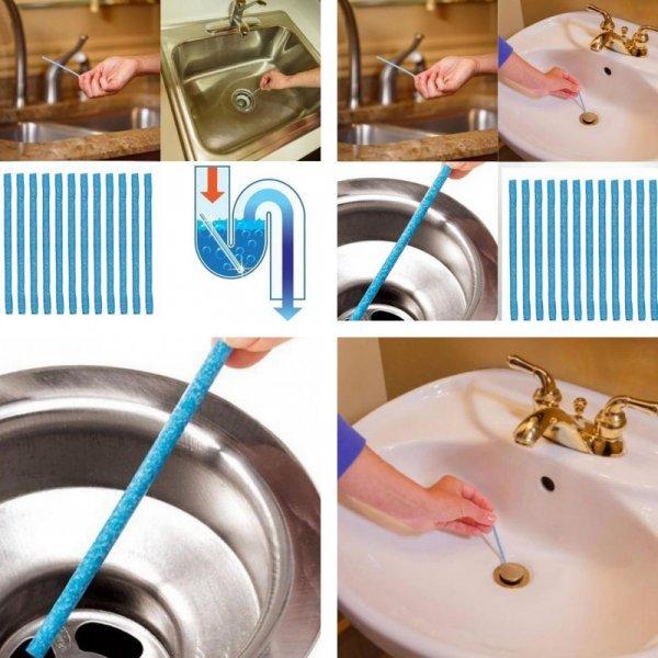 Очиститель канализации GETHOME (12 шт)