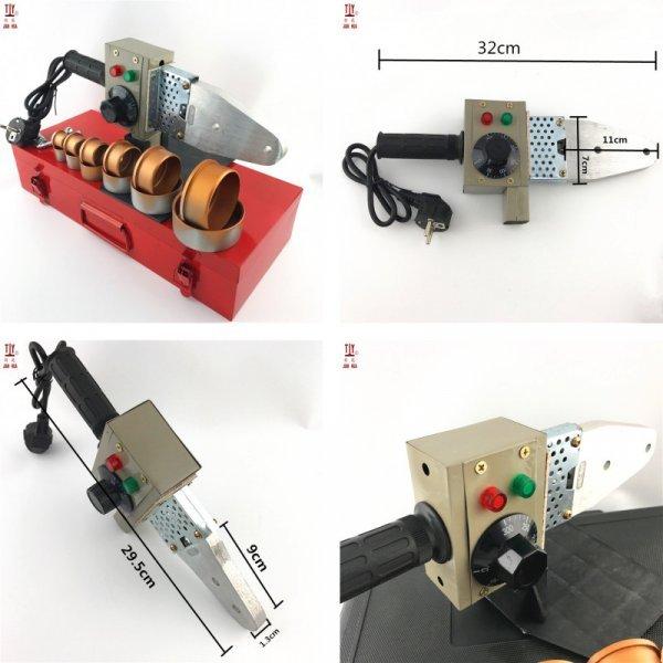 Аппарат для сварки ПВХ труб от JIANHUA (6 комплектаций)