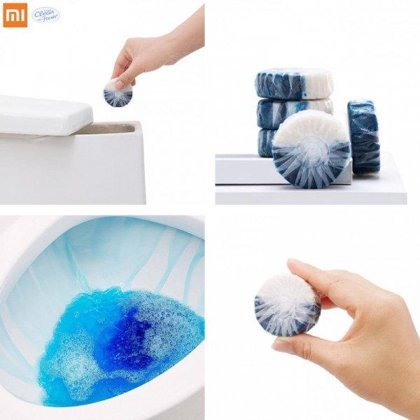 Очиститель для санузла Xiaomi Clean-n-Fresh (1-3 шт)