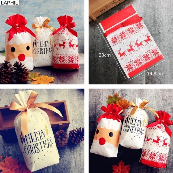 Рождественские упаковки от LAPHIL (3 вида, 12 шт)