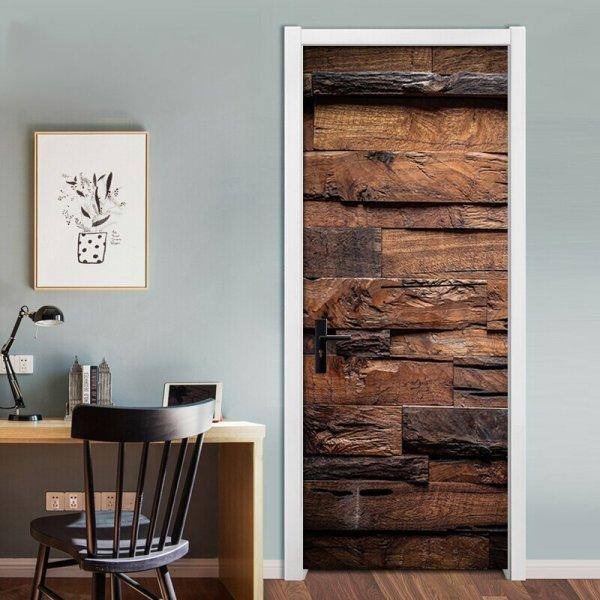 Виниловый декор для двери (2 размера)