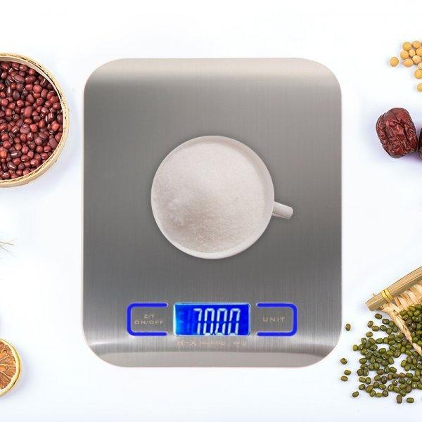 Цифровые кухонные весы VKTECH