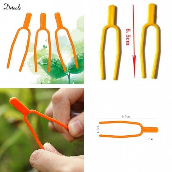 Зажим-вилочка для укоренения растений от DRTOOLS (2 - 4,5 см, 50 шт)