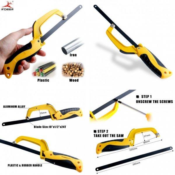Универсальная ножовка для мелких работ RDEER
