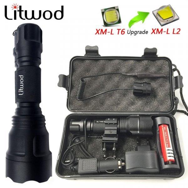 Шикарный светодиодный фонарик для дома и кемпинга Litwod Z10C8