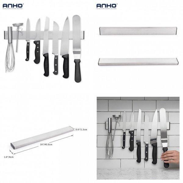 Настенный держатель для ножей на магните ANHO (40.5*1.5 см)