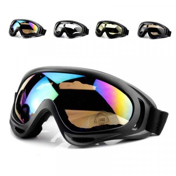 Стильные очки для спорта и работы (4 цвета линз)