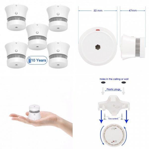Детекторы дыма для детской CPVan (5 шт)