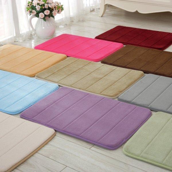 Мягкий коврик для ванной Keythemelife (11 цветов, 40*60 см)