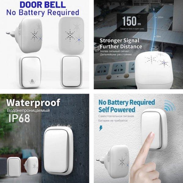 Дверной звонок без аккумулятора
