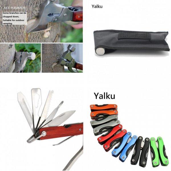 Складной набор инструментов 8 в 1 от YALKU