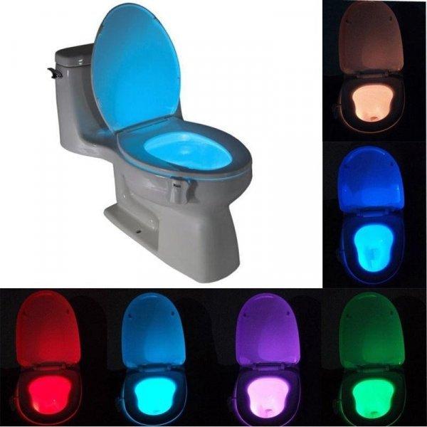 Светодиодная подсветка с датчиком движения для унитаза