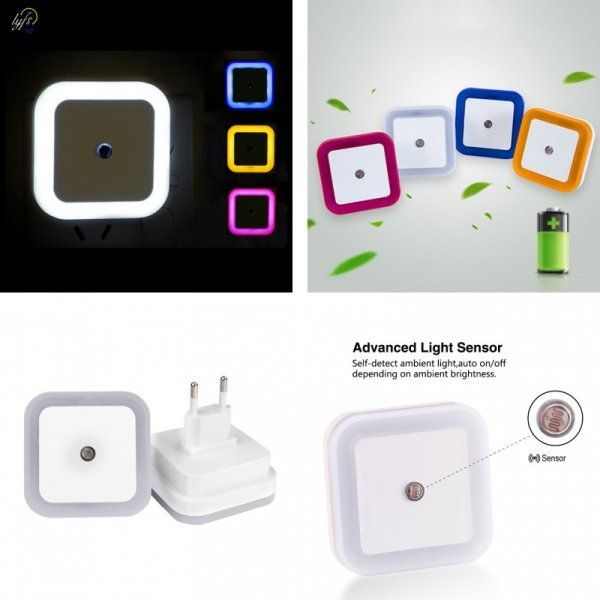 LED ночник Yfs (4 цвета)