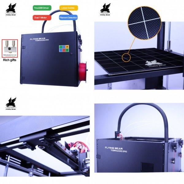 3d принтер от FLYING BEAR (2 комплектации)