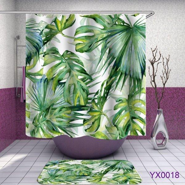 Шторка для ванной  (24 принта, 5 размеров)