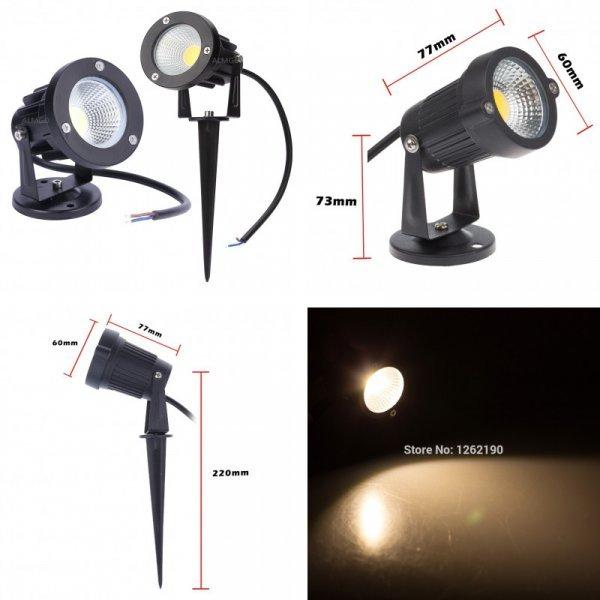 Отличный светильник для дорожек и газонов ALMGD (1 шт,  3 Вт 5 Вт 7 Вт 9 Вт)