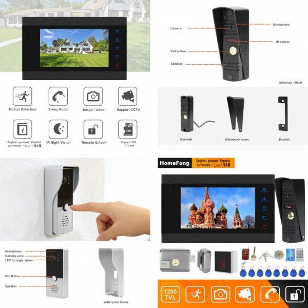Видеодомофон для дома Ysecu