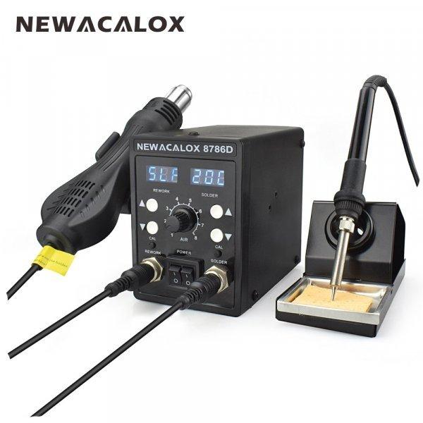 Прибор для пайки 2 в 1 от NEWACALOX (4 комплектации)