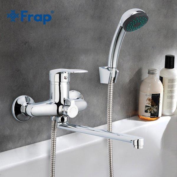 Однорычажный смеситель для ванны Frap