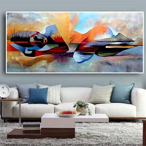 Абстрактная картина от YWDECOR (8 размеров)
