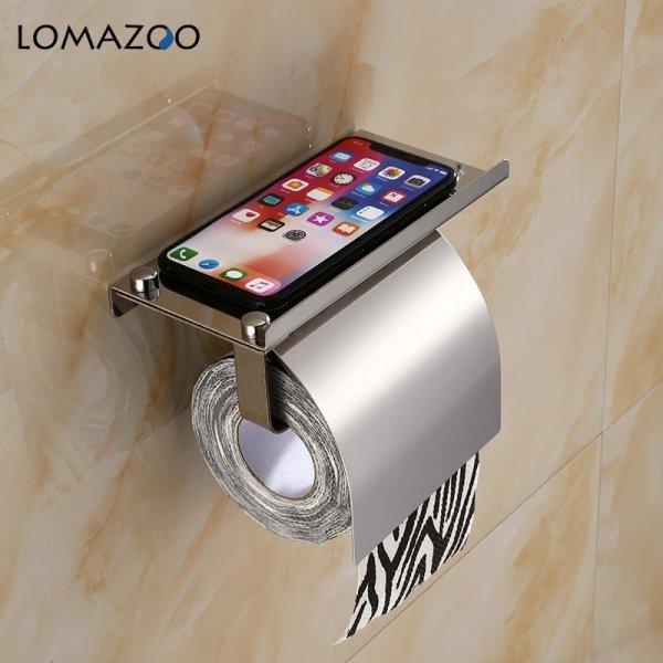Модный держатель туалетной бумаги LOMAZOO