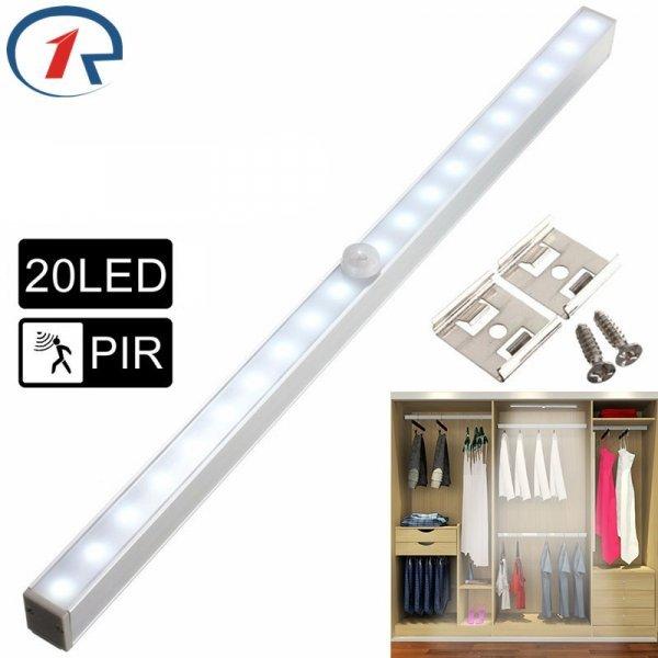 Беспроводной светильник для шкафа с датчиком движения Zjright