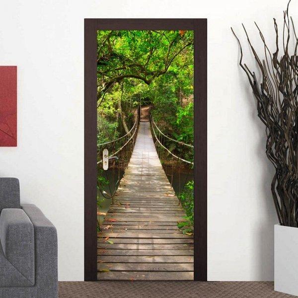 Самоклеющийся декор для двери от ZY (29 принтов)