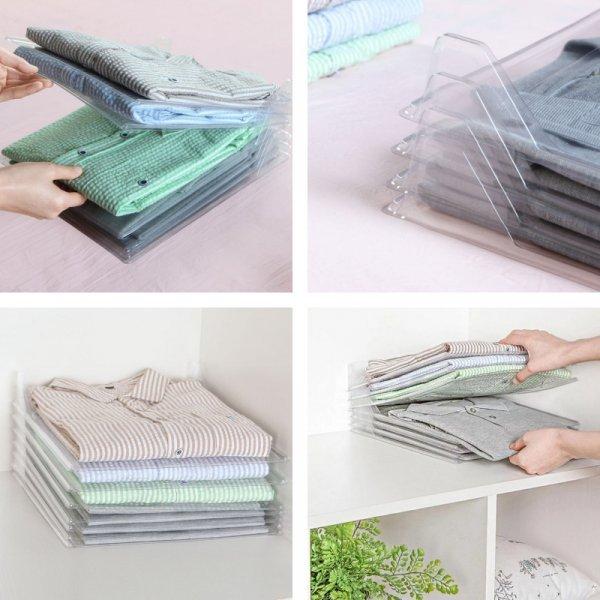 10-слойный органайзер для хранения одежды на полках